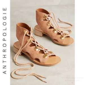 Anthropologie See by Chloé Edna Lace Up Sandals